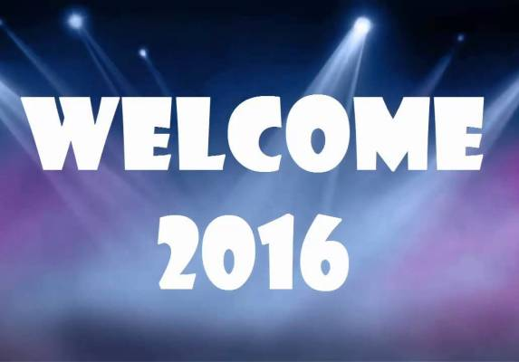 Welcome, 2016!