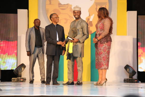 Philip Obaji wins the Future Awards Africa Prize for Young Person of the Year