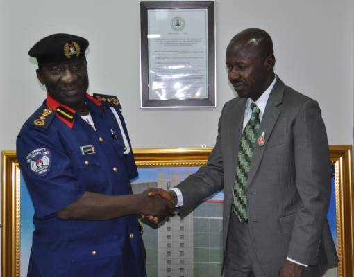 NSCDC boss visits Magu, seeks cooperation