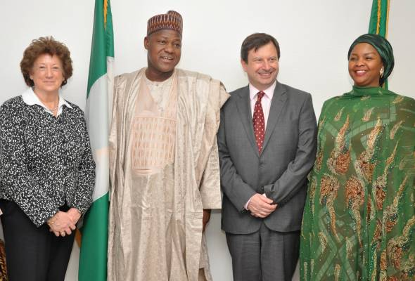 Dogara solicits Britain's support in rebuilding North-East, says the House of Reps takes gender issues as a priority