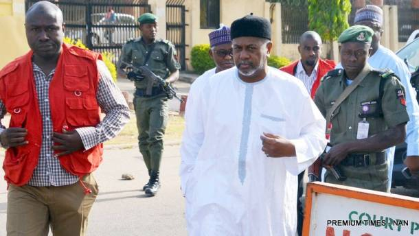 N13.5bn arms scam: Court adjourns Dasuki's trial to May 3