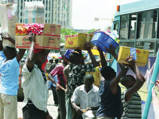 Banning street trading and leaving touts on Lagos roads