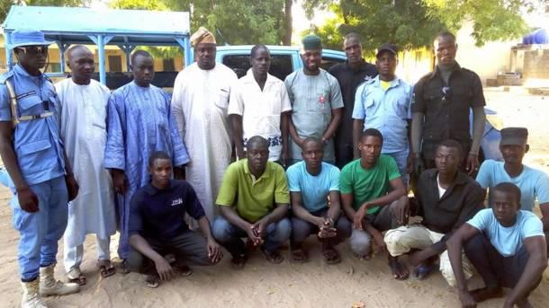 Philip Obaji brings human rights education to vigilantes fighting Boko Haram in Nigeria's northeast