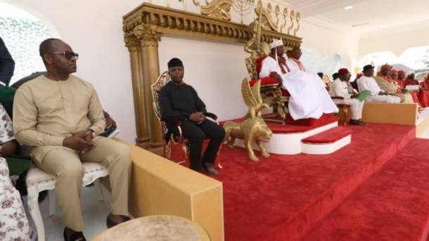 Vice-President Yemi Osibanjo's visit to Gbaramatu Kingdom, the Urhobo nation and the Nigeria Delta question