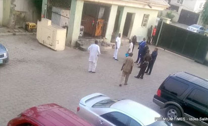 Nigerian police raid investigative news website's office