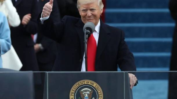We will make America great again – President Donald Trump's inaugural address