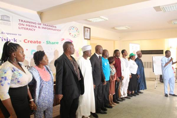 UNESCO inaugurates coalition for media and information literacy in Nigeria