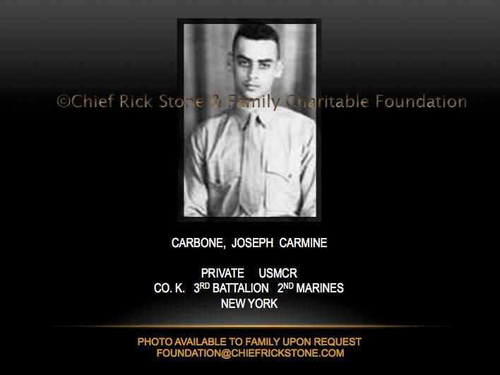 Carbone, Joseph Carmine