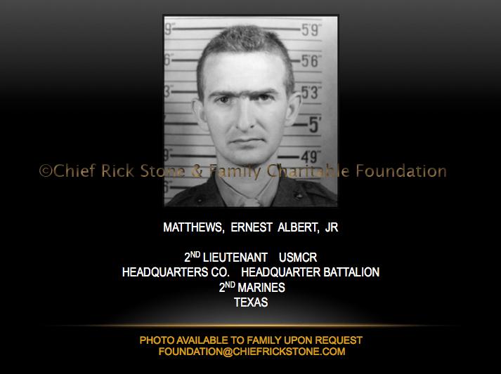 Matthews, Ernest Albert, Jr