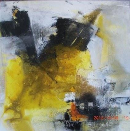 mstein-Acryl, Mischtechnik 60 x 60 cm, 2012