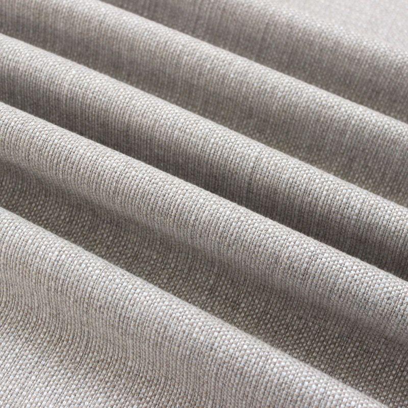 tissu d ameublement aspect lin chine beige sable