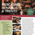 Domenica 15 dicembre ai mercatini di Trento?