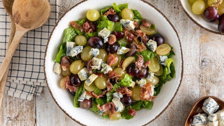 Le ricette di Erika e Diego | Insalata di uva e gorgonzola