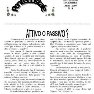 N. 4 | Anno 2000