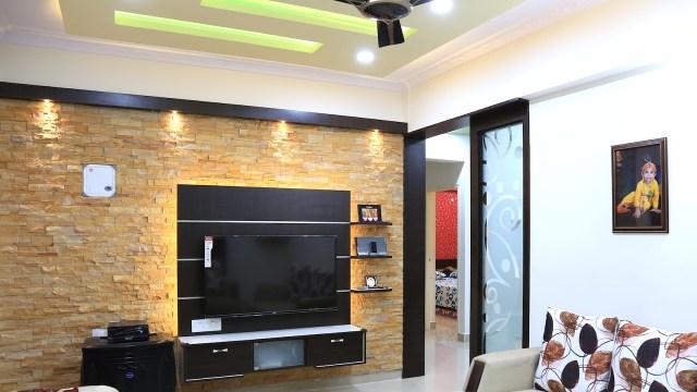Walkthrough of Mr. Arun 2 BHK House | Interior Design ...