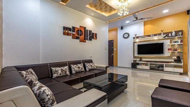 2 BHK Flat Interior Design in Pune | Cost effective design ...