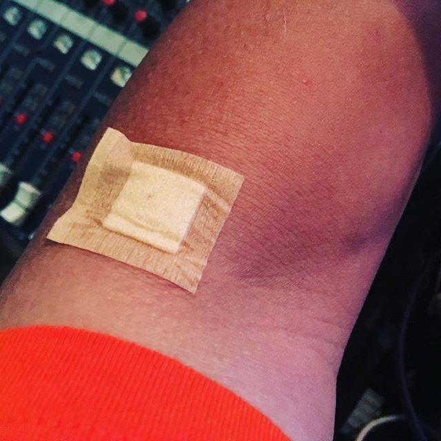 健康診断で採血