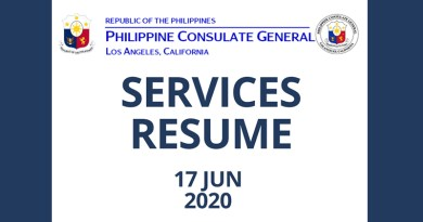 Consular Services to Resume