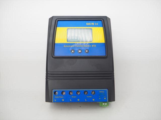 商用電源切替器/インバーター切替器 NV-Q4500PLUS(DC12V/24V/48V)の写真です。