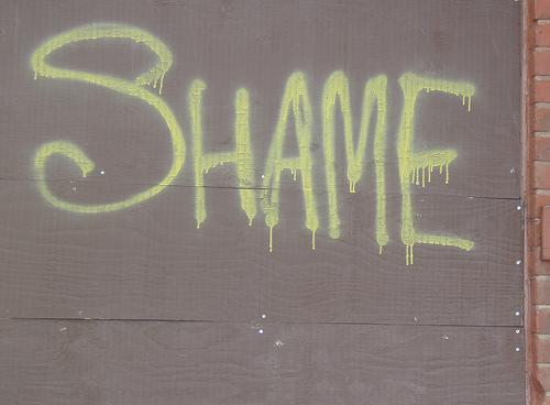 Shame Graffitti