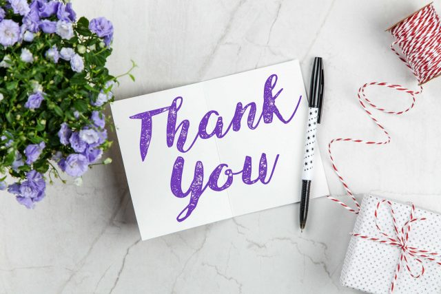 Sharing – What Is the Best Way to Deliver a Thank-You?