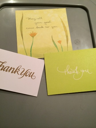 Quick Thought Number 4 – The Appreciation File in the Digital Age