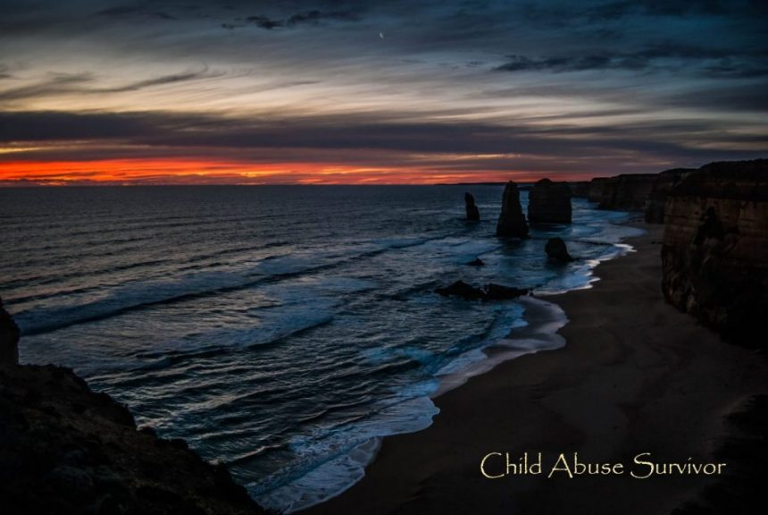 Child Abuse Survivor Sunset