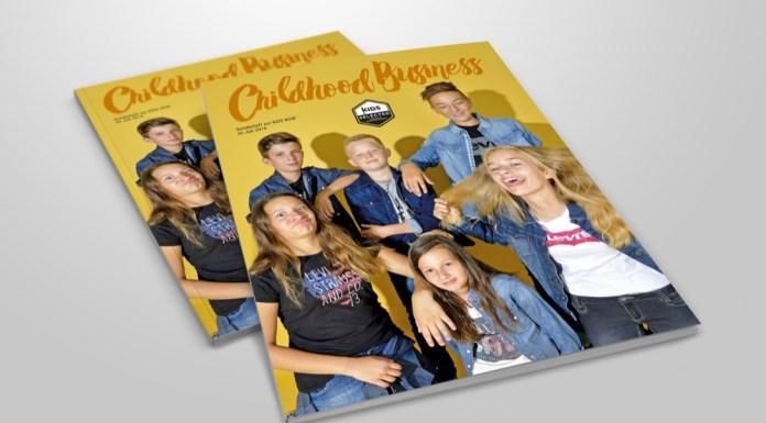 Cover der Sonder-Ausgabe Kids Selected 07 2016 von Childhood Business