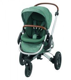 """Kinderwagen """"Nova 3"""" von Maxi-Cosi in der 2017er-Kollektionsfarbe """"Nomad Green"""""""