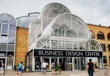Das Business Design Center, in der die Bubble London stattfindet