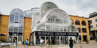 Das Business Design Center, in der die Bubble London stattfindet