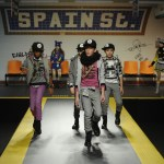 "Tuc Tuc auf der Fashion-Show ""Fashion from Spain"" auf der Pitti Bimbo im Januar 2017"