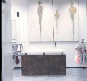 Schauspieler Rocco Stark eröffnete im März 2017 seinen zweiten Laden Atelier 12 in Boltenhagen bei Lübeck