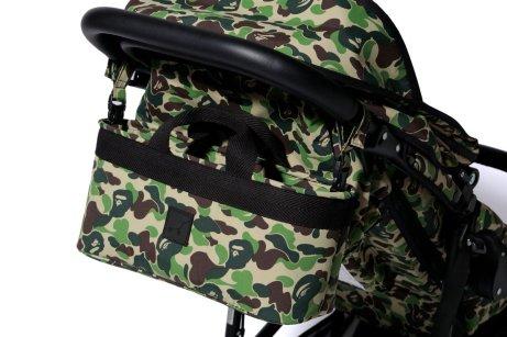 Air Buggy BAPE ABC Camouflage Buggy Schiebgriff Und Tasche