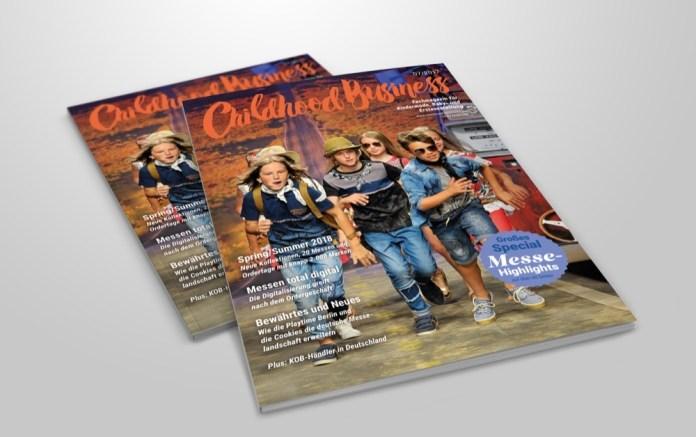 Cover der Ausgabe 07 2017 von Childhood Business
