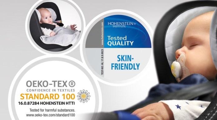 Takata mit weiterem Nachweis für eine hohe Hautfreundlichkeit durch Hohenstein Institute