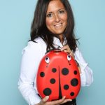Amanda Jenner von My Carry Potty Ltd.. Im Web unter: www.mycarrypotty.com – auf der Kind + Jugend 2017 beim Childhood-Business-Shooting 'My Favourite Item'