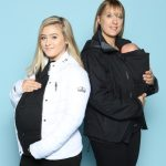 Kate Bell und Lauren Burnett von Zip Us In Limited. Im Web unter: zipusin.co.uk – auf der Kind + Jugend 2017 beim Childhood-Business-Shooting 'My Favourite Item'