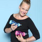 Marjolein Goedhardt von difrax B.V.. Im Web unter: www.difrax.com – auf der Kind + Jugend 2017 beim Childhood-Business-Shooting 'My Favourite Item'