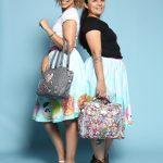 Maggie Hodge und Ania Jakóbczak von Ju-Ju-Be Europe BV. Im Web unter: www.ju-ju-be.com/europe – auf der Kind + Jugend 2017 beim Childhood-Business-Shooting 'My Favourite Item'