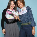 Valentina Tolfo und Emanuela Lani von Pengo S.p.A.. Im Web unter: www.pengospa.it – auf der Kind + Jugend 2017 beim Childhood-Business-Shooting 'My Favourite Item'