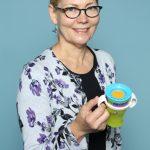Veronika Doerk von Squiz. Im Web unter: www.squiz.co – auf der Kind + Jugend 2017 beim Childhood-Business-Shooting 'My Favourite Item'
