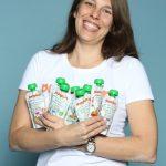 Jaclyn Schnau von Pumpkin Organics GmbH. Im Web unter: www.pumpkin-organics.com – auf der Kind + Jugend 2017 beim Childhood-Business-Shooting 'My Favourite Item'