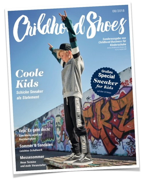 1 von 2 Covern der Ausgabe 08/2018 (Childhood Shoes) - Version A