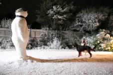 Barbour Weihnachtskampagne - The Snowman 5