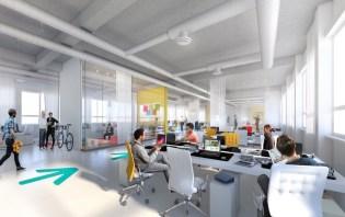 Das O-Werk als künftige Zentrale von Babymarkt.de ab Mitte 2020. Foto: Landmarken AG