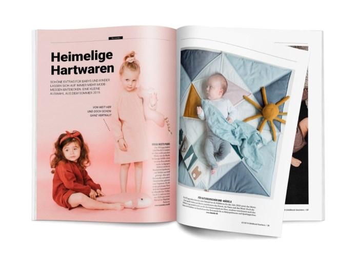 Care-Marken auf Modemessen, aus der Ausgabe 07 / 2019, Teil 1.