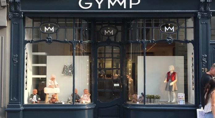 Auch die Stores von Gymp, wie hier in Brugge, erstrahlen im neuen Look.