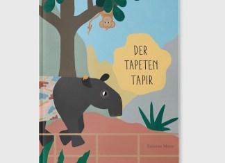 """Das Kinderbuch """"Der Tapeten Tapir"""" von Fabienne Meyer über Fantasie, Freundschaft und Kreativität."""