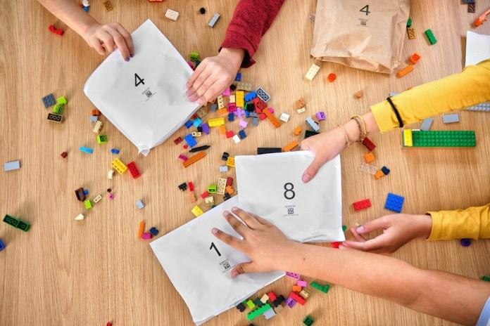 Lego künftig mit Papier statt Plastik